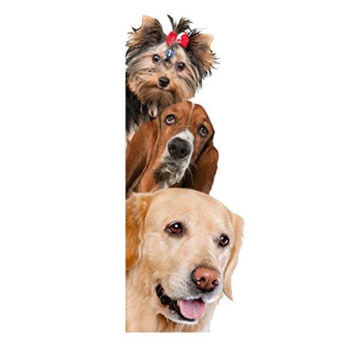 Tkarafune ウォールステッカー 3D 動物 ウォールステッカー 壁紙シール ステッカー猫 ステッカー犬