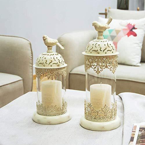 Soporte de Vela de decoración, candelabros de té de Estilo marroquí, Regalo Ideal para Bodas, Fiesta