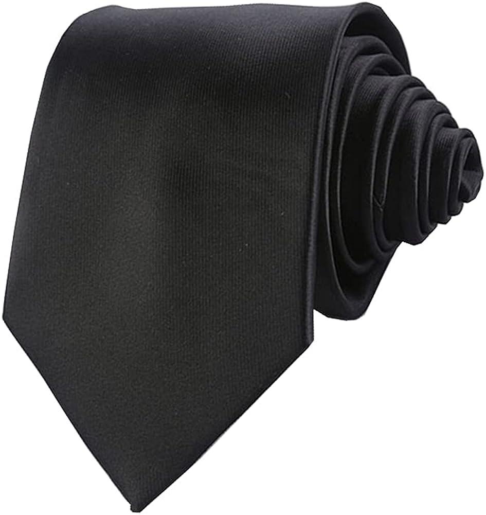 Adulove Men's Tie Necktie Classic Formal Wedding Business at  Men's Clothing store