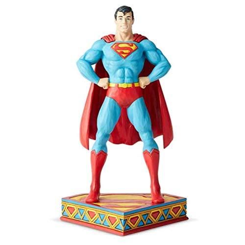 Superman - Figura de hombre de acero, 20 cm