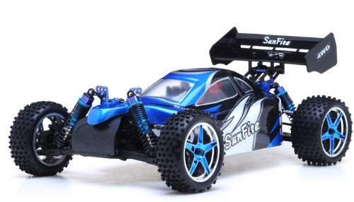 1/10th 2.4Ghz Exceed RC Brushless PRO 2.4Ghz Electric SunFire RTR Off Road Buggy BB Blue