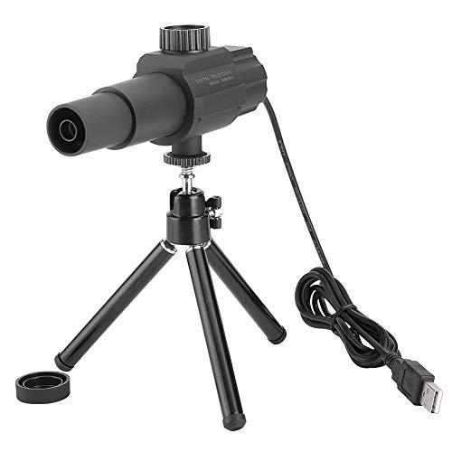 Garsent USB Digital Monokular Teleskop mit Stativ Mini 2MP 70X Spiegelteleskop für Fußballspiele, Landschaft Sehen