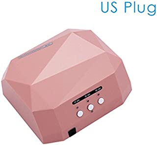 Genuine Uv Led Lamp For Nails Manicure Diamond Shape Dryer For Gel Varnish Upgraded 36W Drying Lamp 10S20S30S Timer Machine Pedicure Champagne Us