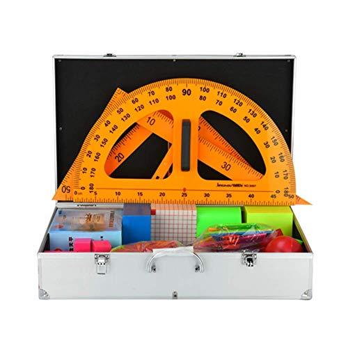Kit de matemáticas magnéticas modelo de ciencia educativa conjunto de recursos de aprendizaje juguete estimular el interés de los estudiantes en el aprendizaje