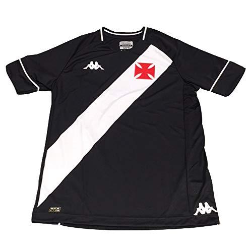 Nova Camisa Kappa Vasco 1 2020 S/N Jogo Masculina - Preta