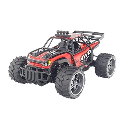 1:16 Neumáticos RTR BIG RC OFF CARRY CAR, PIE MUESTRO MULTIPLAYER JUEGO Coche de juguete, 4WD Controlado remoto RTR Buggy de alta velocidad Drifting Monster Truck para niños, 2.4 GHz Coche de escalada