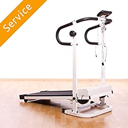 Assembly of 1 treadmill per product instructions Moving treadmill to a new room is not included If additional works are required, additional costs may be incurred