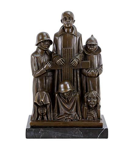 Bronzeskulptur - Ehrendenkmal (1928/29) - Ernst Barlach Skulptur - Limitierte Edition - Kunst kaufen - Magdeburger Ehrenmal