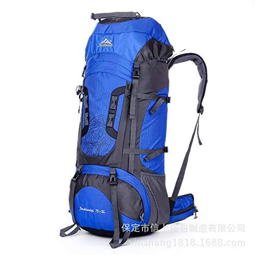 Lussebaby Outdoor Mountaineering Bag 75L Grote Capaciteit Mannen En Vrouwen Rugzak Reizen Wandelen Camping Tent Bag 6