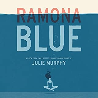 Ramona Blue audiobook cover art