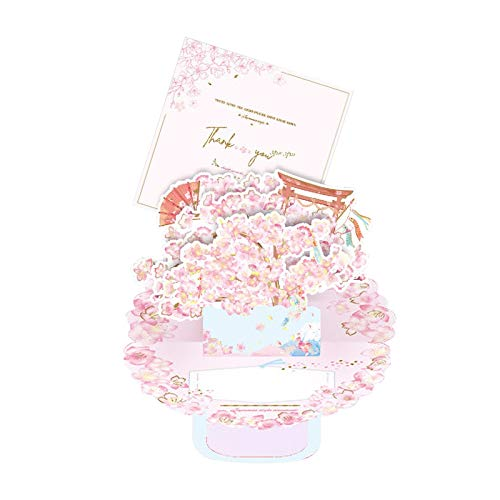 Pop-up-Karte mit Umschlag - 3D-Karte für Mama, Muttertagsgrußkarte, Blumenkarte, Love You Mom Card