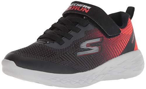 Skechers Boys GO Run 600 FARROX Sneakers Kinder Schuhe Schwarz, Schuhgröße:32 EU