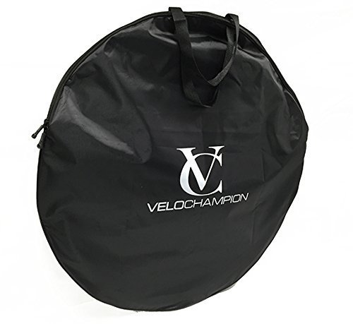 VeloChampion Bolsa para Ruedas de Bicicleta 700c - Negra Bicycle Wheel Bag - Black