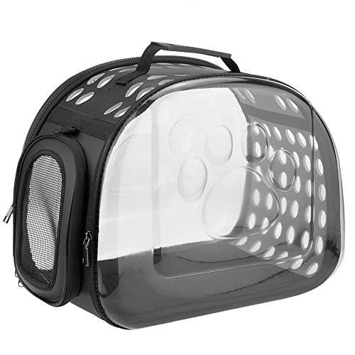 CityBAG - Koffer voor het vervoeren van huisdieren, kat en hond. Doorzichtige plastic drager