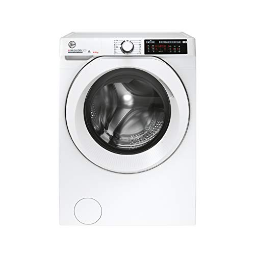 Hoover H-Wash 500 HD496AMC Free Standing Washer Dryer, WiFi Connected, A Rated, 9 kg/6 kg, 1400 rpm, White
