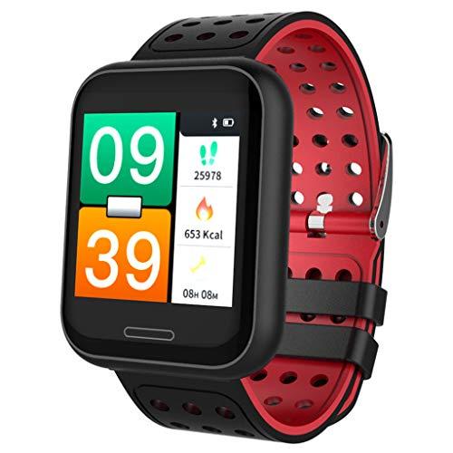 Sportuhren Unisex-Adult Innovative Gesundheits-und Fitness-Tracker, Sport Advanced Health & Fitness, Bluetooth Smartwatch Fitness Uhr Intelligente Armbanduhr Fitness Tracker Smart Watch Sport Uhr