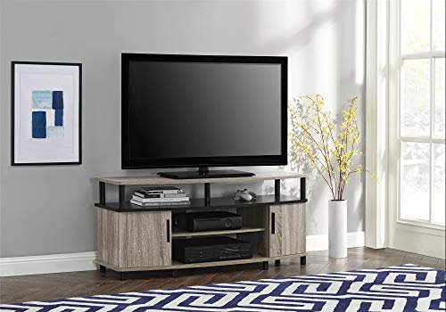 Ameriwood Home Carson TV Stand for TVs up to 50', Sonoma Oak