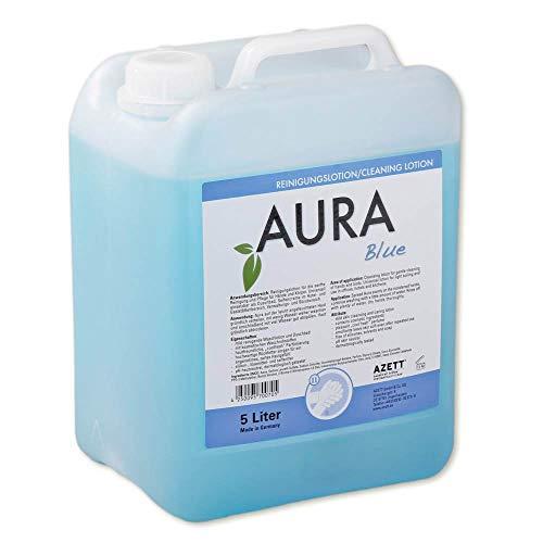 1x Duschgel AURA, Waschgel, Blau, ph-neutral, 5 Liter Kanister