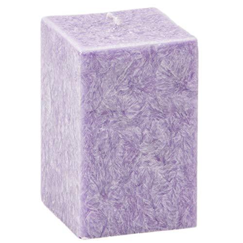qudratische Bougie parfumée Bougie 10 x 7 x 7 cm Aroma Lavande