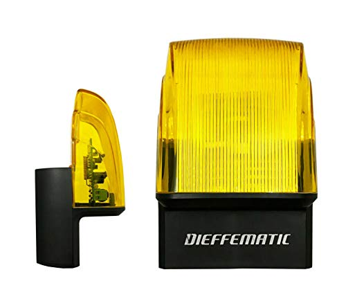 LAMPEGGIANTE LED 230V 220V CON ANTENNA 433MH INCORPORATA PER CANCELLO AUTOMATICO