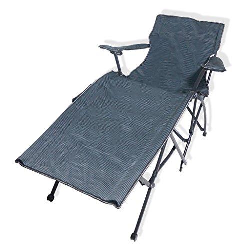 Fauteuils inclinables Fauteuils et Chaises Tatami Chaise de Salon en Plein air lit Pliant Simple de Bureau équipement de Camping portatif lit d'accompagnement d'hôpital