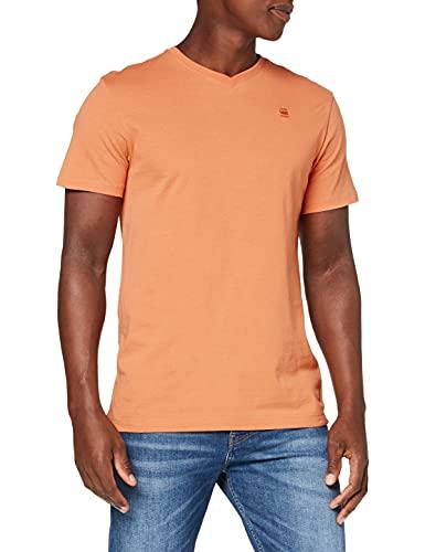 G-STAR RAW Base-S V-Neck Camiseta, Light Pasta 336-c425, M para Hombre
