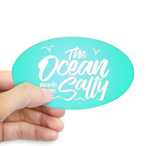 De Ocean Made Me Zoute Stickers Vinyl Auto Decals Bumper Stickers Grappige Stickers voor Laptop, voor Kinderen, Kerstcadeaus