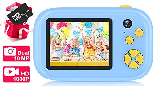 EUTOYZ Kinder Kamera ab 3-12, Geschenke für Jungen ab 3-12 Jahre Kamera Kinder Spielzeug für 5 6 7 8 Jahre Jungen Mädchen Geschenke 3-12 Jahre Mädchen Spielzeug Geburtstagsgeschenk für Kinder