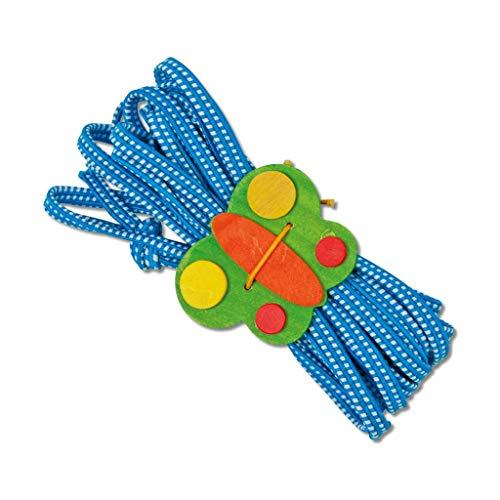 Small Foot Gummitwist 5m, bunt, Hüpfspiel, inkl. Schmetterlingshalter ׀ Wiemann Lehrmittel