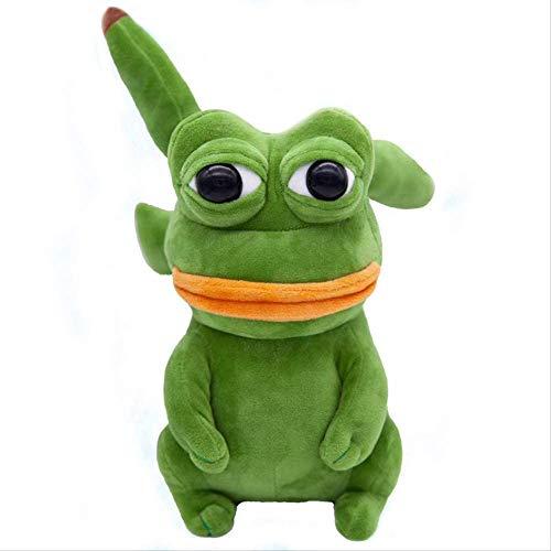 GHJU Pokemon Pikachu Plüschtiere Pepe Frosch 23cm, Jenny Frosch Pepe der Frosch Sand Frosch Gefüllte Puppe Spielzeug für Kinder Qingqiao (Color : Default)