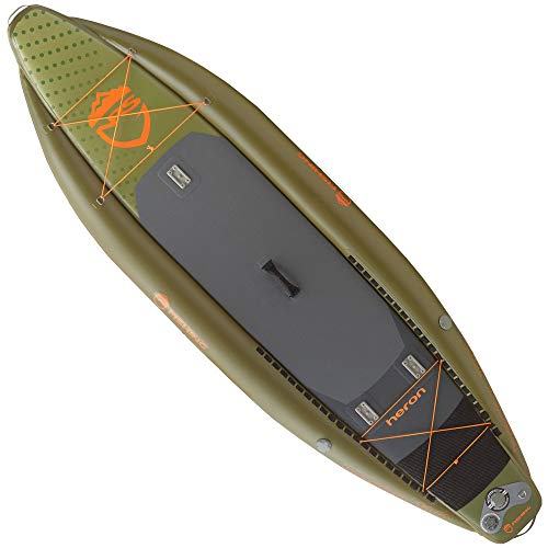 NRS Heron Inflatable Stand-Up Paddleboard One Color, 11ft