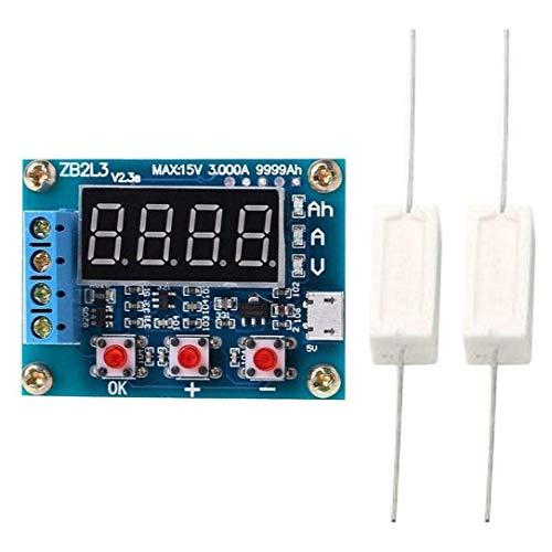 TOOGOO ZB2L3 Batterietester LED Digital Anzeige 18650 Lithium Batterie Netzteil Test Widerstand Blei S?Ure Kapazit?T