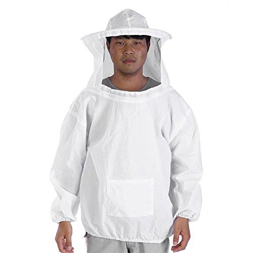 Soapow Chaqueta protectora profesional de apicultura traje de apicultura para equipo de apicultura