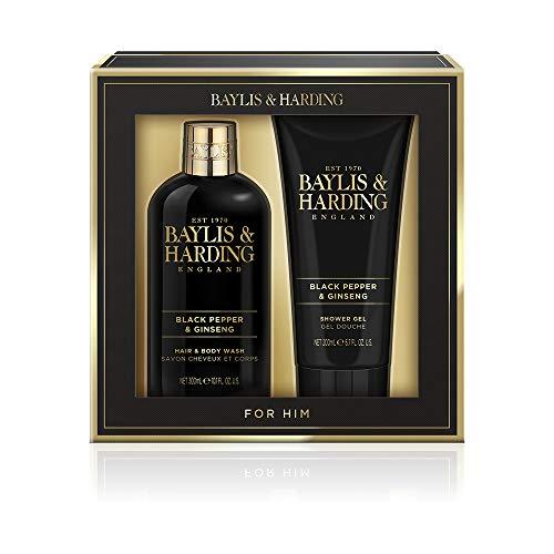 Baylis & Harding, set regalo da uomo con pepe nero e ginseng