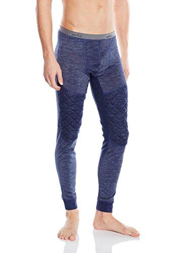 Odlo Pantalon Revolution TW X-Warm pour Homme, sous-vêtement Fonctionnel et Legging, Bleu Marine, Taille S