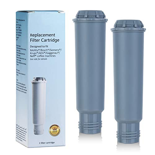 Somune Wkład do ekspresu do kawy z filtrem wody do Melitta/Krups Claris F088 F088 01/Siemens TCZ60003 /AEG/Neff/Bosch TCZ6003 (2 sztuki)