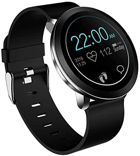 Rastreador de actividad de reloj inteligente impermeable con monitoreo del sueño podómetro fitness tracker-B