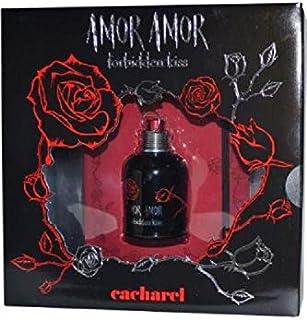 Cacharel Amor Forbidden Kiss For Women - Eau De Toilette 50 ml & Niote Book