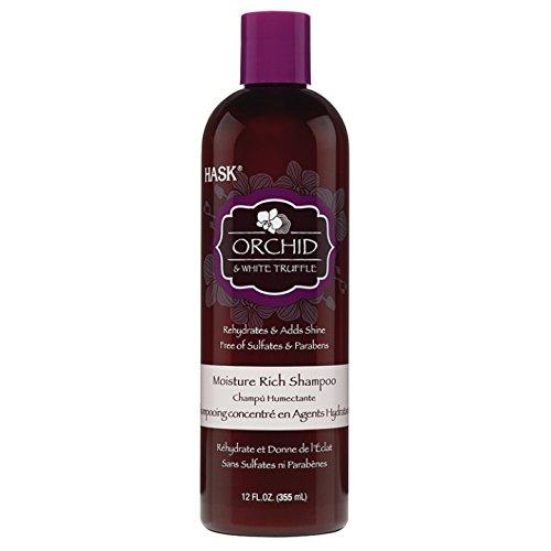 Hask Orchid & White Truffle Moisture Shampoo, 12 Ounce