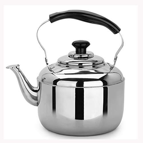 LCFF Bouilloire de santé de sifflet automatique de cuiseur de gaz de cuiseur à induction de cuisine d'acier inoxydable 304 de bouilloire à la maison (Capacité : 6L)