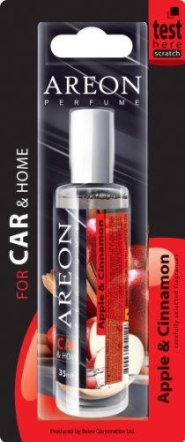 Ambientador coche spray Areon Manzana Canela 35ml.-