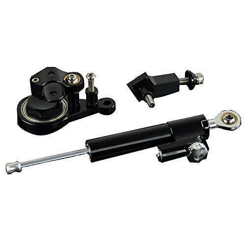Motorrad CNC Einstellbare Lenkungsdämpfer & Halterung Montagesatz Für Kawasaki ZX-6R ZX6R 05-06