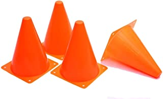 """Best Dazzling Toys 7 Inch Plastic Traffic Cones - 6 Pack of 7"""" Multipurpose Construction Theme Party Sports Activity Cones for Kids Outdoor and Indoor Gaming and Festive Events Review"""