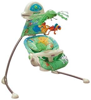 Fisher-Price K6077 Baby Gear- Mecedora automática para bebé, diseño de selva (B000PWISZ2) | Amazon price tracker / tracking, Amazon price history charts, Amazon price watches, Amazon price drop alerts