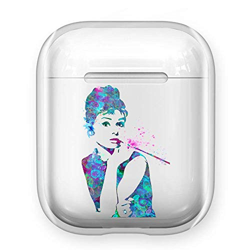 valkit2 mudrey heppurn pbkp MRT pmzantzang ymnvms przant Clear TPU Cover Hülle Case for airpods 1/2