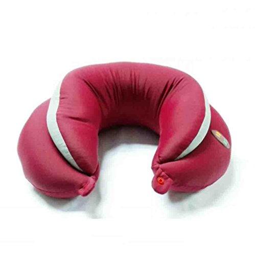 MFFACAI U-Tipo Almohada de Masaje eléctrica para Reducir la Enfermedad Cervical para...