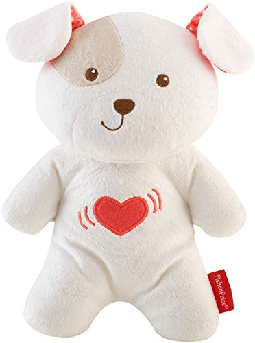 Fisher-Price Calming Vibrations Cuddle Soother, Musical Plush Toy for...