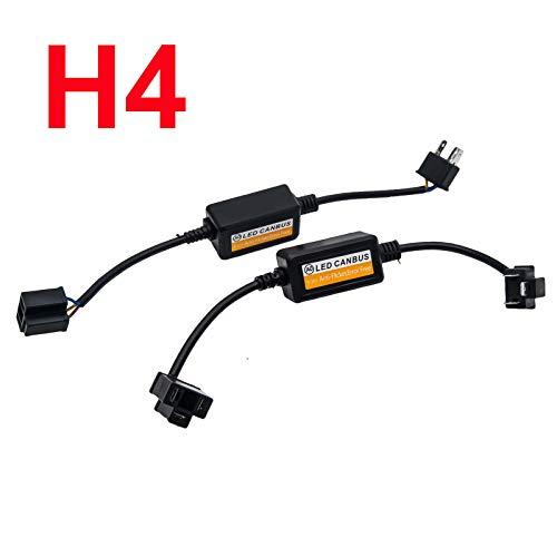 Câble Canbus pour ampoule de phare H4.