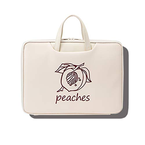 BSDK laptoptas voor dames, 13-15,6 inch laptoptas, aktetas met stevige handgrepen voor business, school, reizen