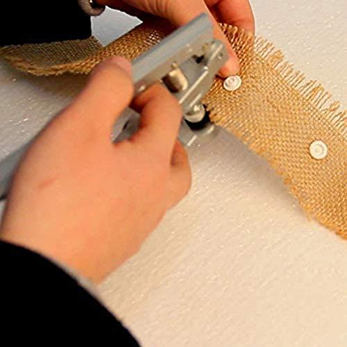 YUXIwang Alicates HSnap Alicates Prensa Botón Sujetador Snap Stud Alicates Herramienta de Punzonado para Sujetadores de Resina de Plástico